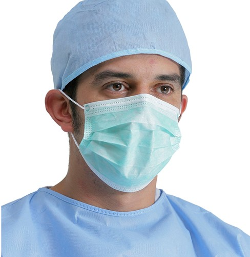 Chirurgisch mondkapje Type IIR (100 stuks)