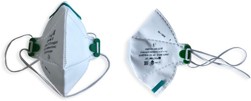 Mondkapje / Mondmasker FFP1 (100 stuks)