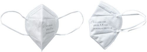 Mondkapje / Mondmasker FFP2 (10 stuks)