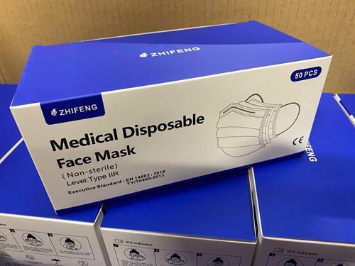 Medische Chirurgische mondkapjes Type IIR (100 stuks)