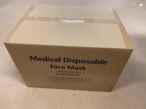 Medische Chirurgische mondkapjes Type IIR (2.000 stuks)