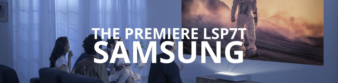 Samsung The Premiere LSP7T - Dé 4K bioscoopervaring op jouw tv meubel