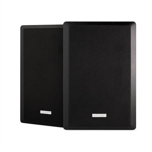 iVisions ProAudio IBL5 Passieve Speakers (2 stuks, zwart)