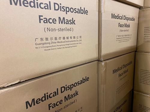 Medische Chirurgische mondkapjes Type IIR (10.000 stuks)