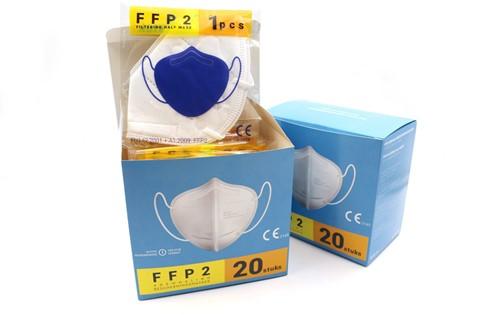 Mondkapje / Mondmasker FFP2 (120 stuks)
