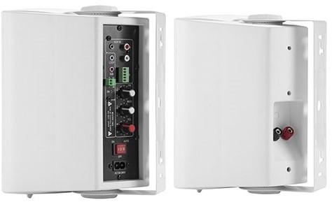 iVisions ProAudio HYF5 Audio set (wit) Achteraanzicht rechts