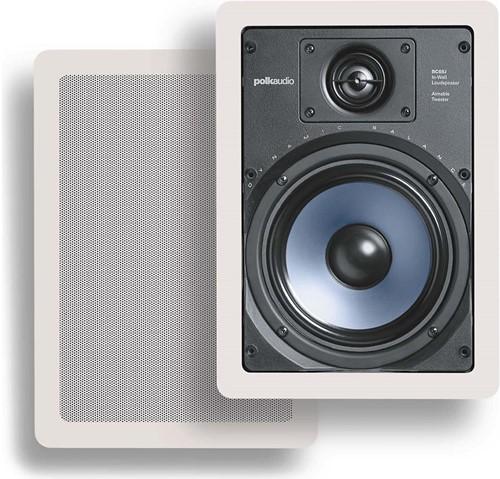 Polk Audio RC65i Wand Inbouw Luidspreker Set (wit)