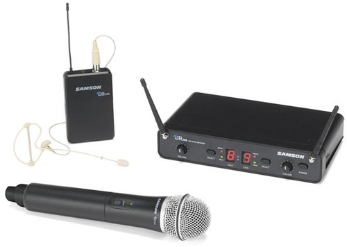 Samson Concert 288 Pro Combo Dual-Channel Wireless System